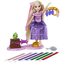 Disney Princess Rapunzel's Royal Ribbon Salon Doll