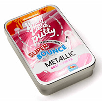 Nickelodeon Liquid Lava Putty Super Bounce Metallic - Rose Quartz