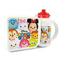 Disney Tsum Tsum Sandwich Box and Bottle Combo