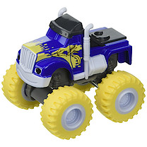 Fisher-Price Blaze and the Monster Machines Die Cast Vehicle - Banana Blasted Crusher