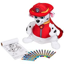 Paw Patrol Marshall Backpack with Colouring Accessories