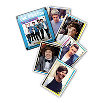 One Direction Blue Sticker Pack