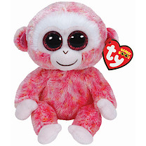 Ty Beanie Boos - Ruby the Monkey Soft Toy
