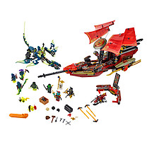 Lego Ninjago Final Flight of Destiny's Bounty - 70738