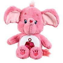 Care Bears Medium Soft Toy with DVD - Lotsa Heart Elephant