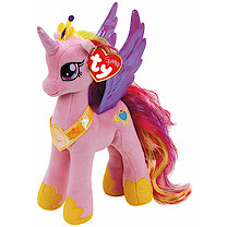 Ty My Little Pony Princess Beanie Soft Toy - Cadence