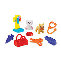 Pocket Pals Pet Clinic Playset with Pet Scale