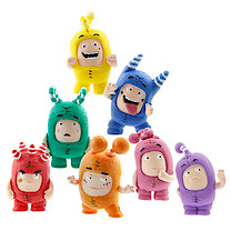 Oddbods Mini Figure 7 Pack