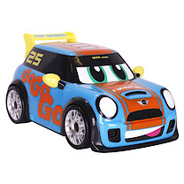 Go Mini Power Boost Racer - Blue Car