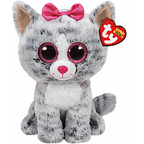 Ty Beanie Boo Buddy - Kiki the Cat Soft Toy