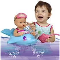 Nenuco Bubble Bath Doll with Dolphin Float