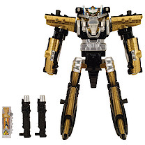 Power Rangers Dino Charge Gold Ptera Megazord Figure