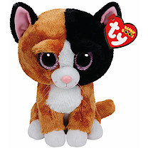Ty Beanie Boo Buddy - Tauri the Cat Soft Toy