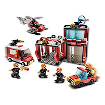 Block Tech Extra Large Fire Headquarters Set