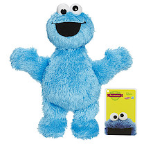 Playskool Sesame Street The Furchester Hotel Micro Soft Cookie Monster