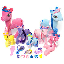 Fantasy Pony Playset - 25 Pieces