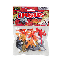 Dinosaur Mini Figures - 12 Pieces