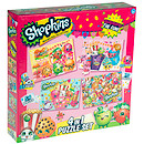 Shopkins 4 in 1 Puzzle Set - 45 Pieces