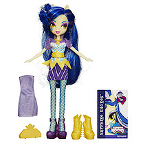 My Little Pony Equestria Girls Rainbow Rocks - Sapphire Shores Doll with Fashions
