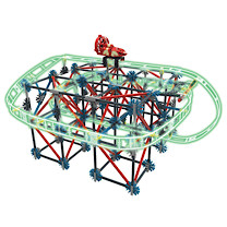 K'NEX Thrill Rides Web Weaver Roller Coaster Building Set