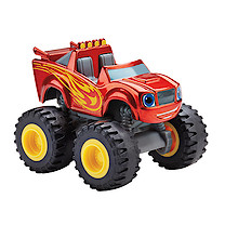 Fisher-Price Blaze and the Monster Machines Die Cast Vehicle - Metallic Blaze
