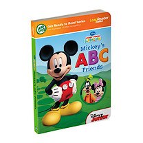LeapFrog LeapReader Junior Get Ready to Read Book: Disney Mickey Mouse Clubhouse