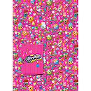 Shopkins 2 Wrapping Paper Sheet & 2 Gift Tags Pack