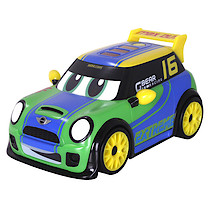 Go Mini Power Boost Racer - Green Car