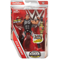 WWE Elite Collection Action Figure - D'lo Brown