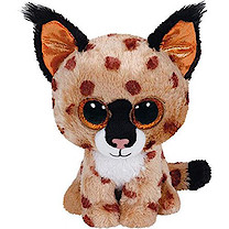 Ty Beanie Boos - Buckwheat The Lynx