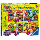 Ravensburger 4 in a Box Puzzles - Teenage Mutant Ninja Turtles Half-Shell Heroes