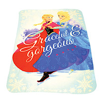 Disney Frozen Blue Fleece Blanket