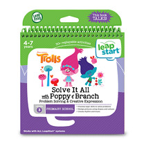 LeapFrog LeapStart Trolls Activity Book