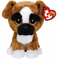 Ty Beanie Boo Buddy - Brutus the Dog Soft Toy
