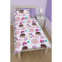 Doc McStuffins Single Rotary Duvet Cover