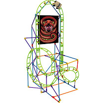 K'Nex Cobra's Coil Roller Coaster Building Set