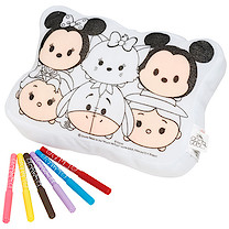 Disney Tsum Tsum Colour Your Own Cushion