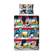 Disney Mickey Mouse & Goofy Single Rotary Duvet Cover
