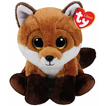 Ty Beanie Babies 25cm Classic Soft Toy - Fay the Fox