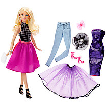 Barbie Mix 'n' Match Fashion Doll - Barbie