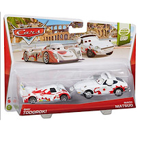 Disney Pixar Cars - Race Team Shu Todoroki and Mach Matsuo