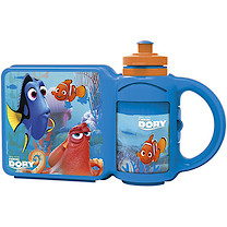 Disney Pixar Finding Dory Sandwich Box and Bottle Combo