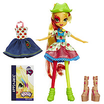 My Little Pony Equestria Girls - Rainbow Rocks Apple-Jack Doll