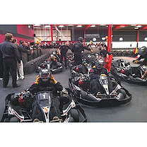Parent and Child Indoor Karting Experience