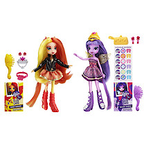 My Little Pony Equestria Girls 23cm Doll Two Pack - Sunset Shimmer & Twilight Sparkle