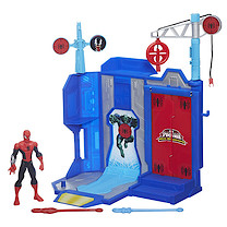 Marvel Ultimate Spider-Man Web Warriors - Trickshot Showdown Playset