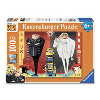 Ravensburger Despicable Me 3 - Minions Gru and Dru Puzzle 100 Pieces