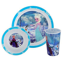 Disney Frozen Tumbler, Bowl & Plate Set