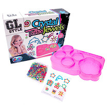 GL Style - Crystal Tattoos and Jewellery Set
