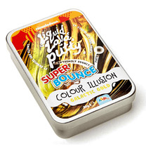 Nickelodeon Liquid Lava Putty Super Bounce Colour Illusion - Galactic Gold